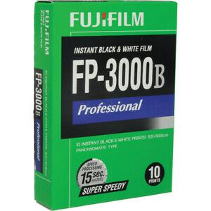 Fuji Fujifilm FP-3000B Black & White Instant Pack Film