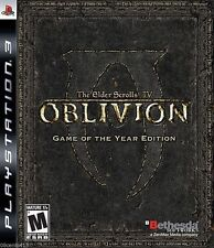 Elder Scrolls IV: Oblivion Game of the Year Edition PS3 - ExC With maps etc