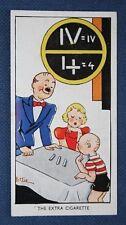 Magic  Extra Cigarette Trick   Superb Vintage Card