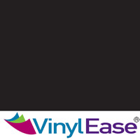 One 12 in x 40 ft Roll Matte Black Permanent Craft and Sign Vinyl V0430