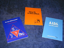3x workplace health & safety guide IS MY OFFICE SAFE?/AIDS & EMPLOYMENT/STAY FIT