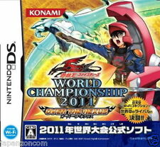 Used DS Yu-Gi-Oh! 5D's World Championship 2011 NINTENDO JAPANESE IMPORT