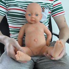 IVITA 20'' Silicone Reborn Baby GIRL Dolls Realistic Toddler Doll Lifelike Baby