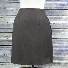 Max Mara Brown Womens Pencil Skirt size 12 Fully lined - NN14