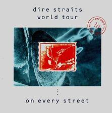 DIRE STRAITS 1992 ON EVERY STREET TOUR CONCERT PROGRAM BOOK / MARK KNOFLER