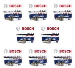 Volkswagen Jetta Bosch Spark Plugs 7927 003159670326 Set of 8