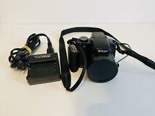 Nikon COOLPIX P80 10.1MP Digital Camera - Black Nikkor 18x Optical Zoom