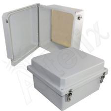 Altelix 14x12x8 Fiberglass NEMA 4X Weatherproof Enclosure with Aluminum Plate