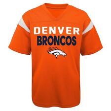 Denver Broncos NFL Youth Boys' Orange Mesh Jersey Size Medium (10/12) NWT