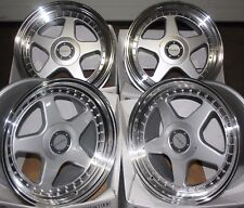 "17"" SILVER DR-F5 ALLOY WHEELS FITS LEXUS MAZDA NISSAN TOYOTA MITSUBISHI MODELS"