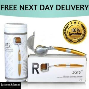 ZGTS Titanium Micro Needle Derma Roller Anti Ageing Acne Scar Wrinkle Treatment