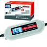 Dino KRAFTPAKET 6V 12V Batterieladegerät Batterietester Komfortanschluss Auto