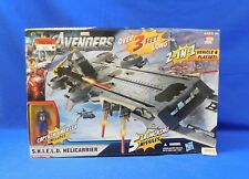 SHIELD Helicarrier Vehicle Playset with Captain America Figure 2011 Hasbro New