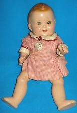 """Vintage Composition Baby Sandy 11"""" Doll"""