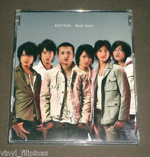 JAPAN:KAT-TUN - Real Face,Limited Ed CD Single,J.E.JPOP,Boy Band,Kat-tun