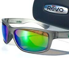 NEW! REVO Baseliner Matte GREY w Shallow Water POLARIZED ANGLER Lens Sunglass