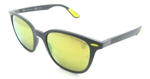 Ray-Ban Sunglasses RB 4297M F608/6B 51-19-150 Ferrari Grey/Gold Mirror Polarized
