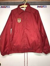 Patriots Coaches Jacket Vintage USA Size S Red Jacket Chain Stitch Patch