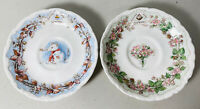 Royal Doulton Brambly Hedge Summer & Winter Saucer Gift Collection England 1983