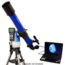 Blue 70mm iOptron Telescope w Digital Color USB Camera