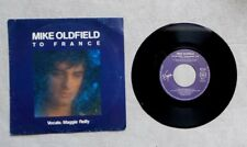 "DISQUE VINYLE 45T 7"" SP / MIKE OLDFIELD ""TO FRANCE"" 1984 VIRGIN 90134 SYNTH-POP"