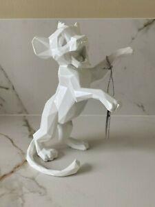 Simba Orlinski Blanc Roi Lion figurine Disney Disneyland Paris Neuf