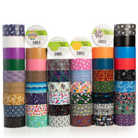 Simply Genius Duct Tape Roll Colors Patterns Craft Supplies Colored & Patterned