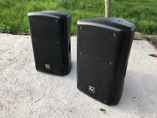"Pair EV Electrovoice ZX5 speakers 15"" Full Range Passive"