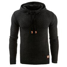 Para Hombre de Punto Sudaderas Sudadera con Capucha Jersey Suéter Chaqueta