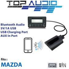 Car Bluetooth AUX Input music stream Audio USB Kits Interface Adaptor for Mazda