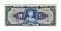 50 Cruzeiros Brasilien 1943 C024 / P.137 - Brazil Banknote