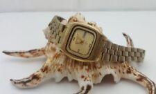 Relojes de pulsera Seiko de acero inoxidable dorado de día y fecha