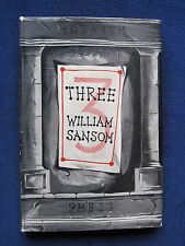 THREE STORIES by WILLIAM SANSOM a HOGARTH PRESS Publication Later Printing in DJ
