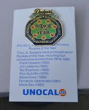 1988 Unocal 76 Los Angeles Dodgers National League Rookie of the Year pin