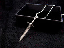 Percy Jackson Sword Necklace Sterling Silver 925 the Olympians pendant jewely