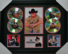 LEE KERNAGHAN MEMORABILIA FRAMED SIGNED LIMITED EDITION 4CD