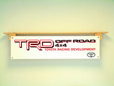 Toyota TRD Banner 4x4 off Road Racing Workshop Garage pvc sign poster