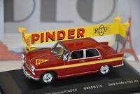 ODEON 019 - PEUGEOT 404 BERLINE CIRQUE PINDER   1/43