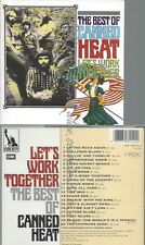 CD--CANNED HEAT--LET'S WORK TOGETHER - THE BEST OF
