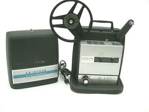 Vintage Keystone K-540 Auto Thread Super 8 Projector