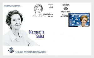 spain 2021 espagne Margarita SALAS 1938 2019 sciences Molecular Biology 1v FDC