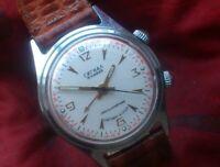 Vintage Watch Poljot Signal 2612 ALARM Soviet Russian Mechanical Wristwatch USSR