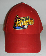 NWT Peoria Chiefs Minor League Baseball MILB Hat Cap Flex Size OSFA by Nike