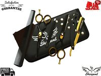 Hair Cutting,Thinning Scissors Shears Set Hairdressing Salon Professional 5.5""