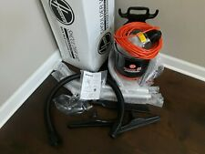 Hoover Shoulder Vac Commercial Lightweight Backpack Vacuum, C2401, Open box.