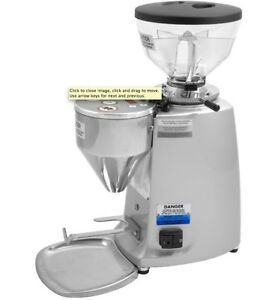 Mazzer Mini Electronic Type A Espresso Grinder -Silver *NEW* Authorized Seller