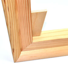 More details for canvas stretcher bars 19mm pairs standard frames + wedges canvases pine bar