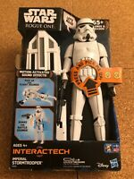 "STAR WARS ROGUE ONE 12"" ACTION FIGURE-INTERACTECH IMPERIAL STORMTROOPER F/S🔥"