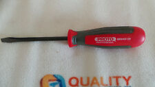 """New Proto J8804B Screwdriver with 4"""" Shank and 1/4"""" Slotted Tip"""