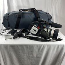 Canon DM-XL1S Camcorder 3CCD Mini DV Digital Tape Video Camera and KATA Pro Bag